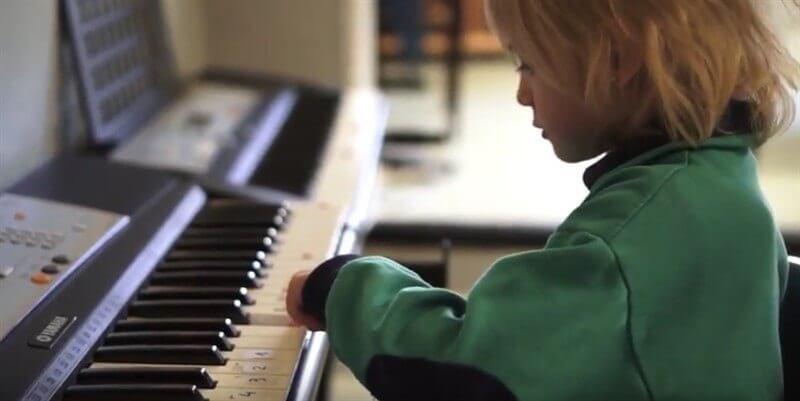 Clases de piano para niños en Madrid