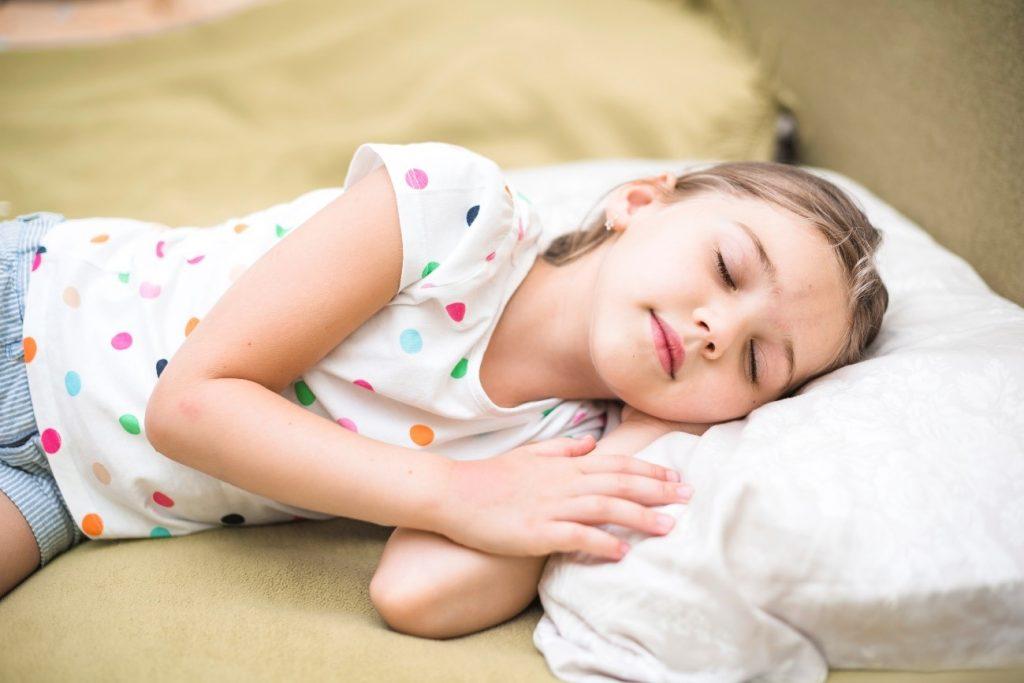 La importancia de la siesta en los niños